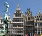 Antwerp Grote Markt Brabo x