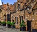 Bruges street houses x
