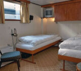 Fluvius twin cabin lower deck
