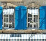 France Provence Camargue  blue shutters x