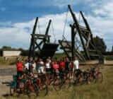 France Provence Camargue cyclist  x