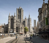 Ghent city centre church x