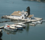 Ionian Islands Corfu Vlaherna monastery