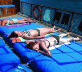 Ionian Islands sunbathing