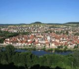 Karlstadt from the castle x