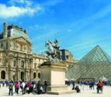 Paris Louvre museum x
