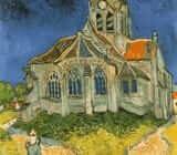 Vincent van Gogh church Auvers sur Oise x