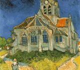 Vincent van Gogh church Auvers sur Oise x