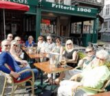 Bruges Grote Markt terrace x