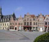 Dendermonde Grote Markt houses