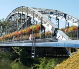 Burgundy bridge