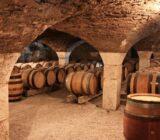 France Burgundy wine cellar
