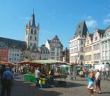 Mosel Trier market square