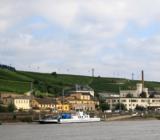 Rüdesheim along Rhine River ()