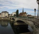 France Burgundy between Sens Paris